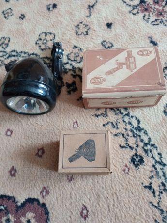 Rower zabytkowy zabytek antyk-Lampa,lampka,dynamo nieużywane