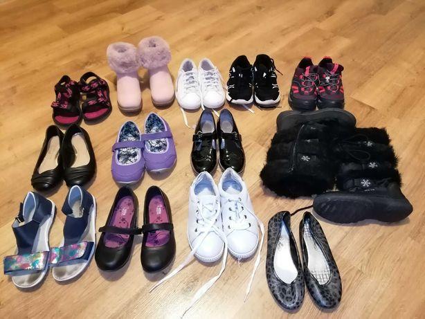 Buty dziewczęce 35-36