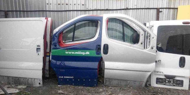 Дверь двери Renault Trafic Opel Vivaro передние сдвижные задние трафік