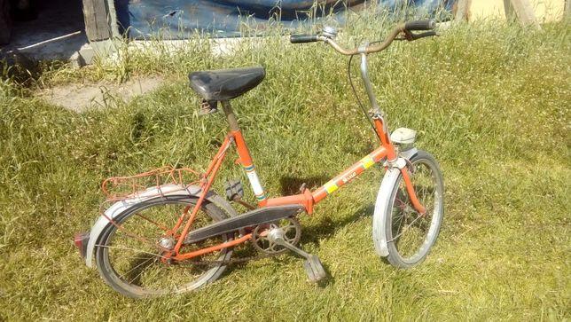 Rower składak prl