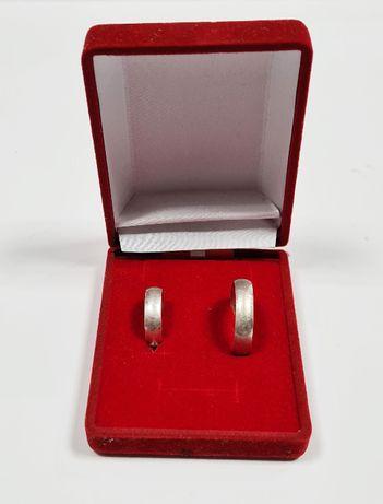 Komplet srebrnych OBRĄCZEK 7,52 G, ROZMIAR 10, 24