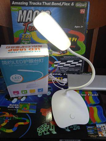 -20%скидка!!!Настольная лампа светодиодная LED , работа от USB!!!