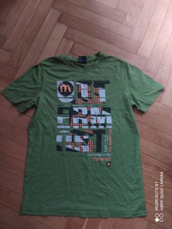 Zielona koszulka dla chłopca