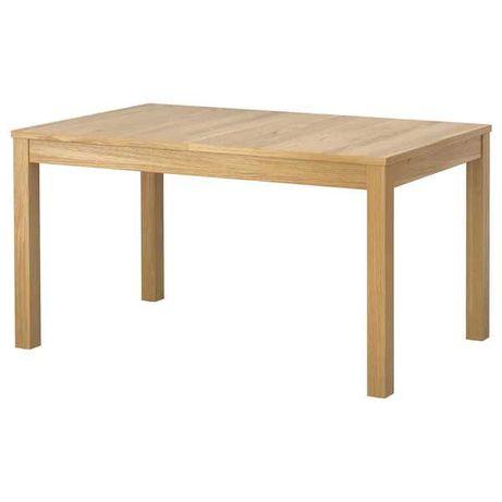 Stół z drewna litego Ikea