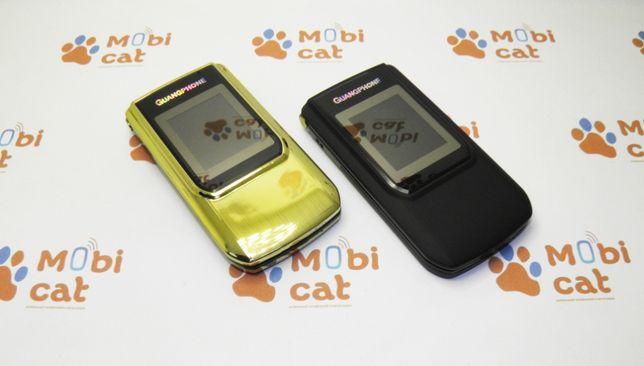 Телефон-раскладушка Guangphone E9 Black/Gold