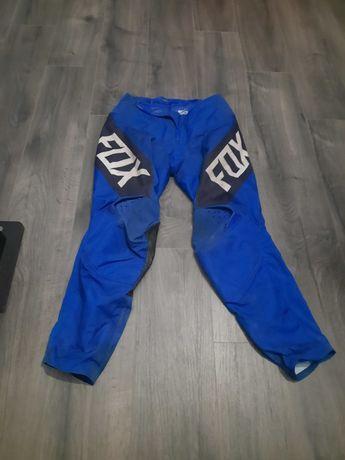 Fox 180 revn blue pełny strój