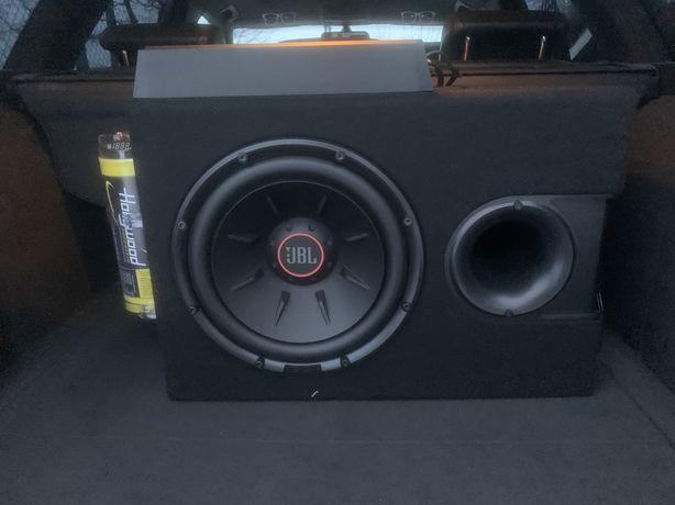 JBL S2-1224SS + Peiying PY-4C127 + kondensator Hollywood 4F
