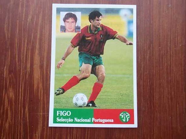 RARO Cromo  LUÍS FIGO  -  FUTEBOL 96/97   PANINI