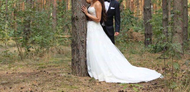 Suknia ślubna FLOSSMANN rozm. S/XS