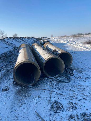 Трубы ж/б бетонные ф 700 мм. жб железобетонные б/у. В наличии.