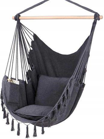 Fotel OGRODOWY wiszący krzesło BRAZYLIJSKIE huśtawka + Dostawa GRATIS