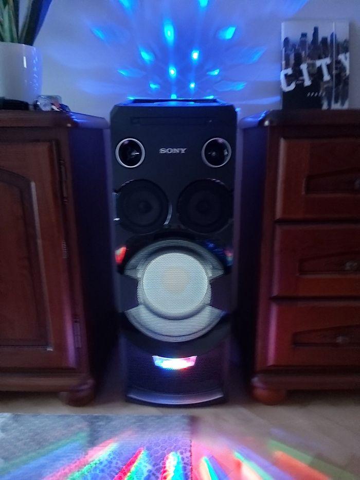 Sony kolumna wieża audio system MHC-V7D z BLUETOOTH® Power audio Skierniewice - image 1