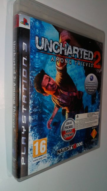 Gra PS3 Uncharted 2 II PL gry PlayStation 3 Hit Unikat