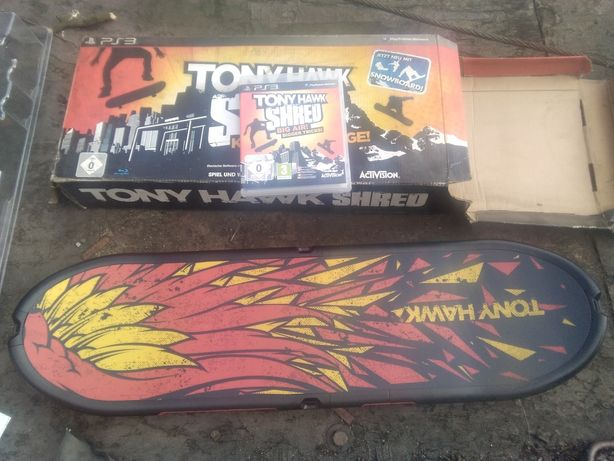 Gra Tony Hawk Shred +deska na PS 3