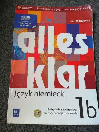 Podręcznik z ćwiczeniami alles klar 1b