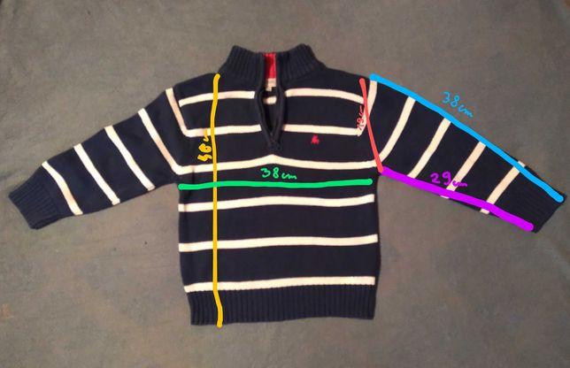 Sweterek/ sweter REBEL 3-4 lat / 104.