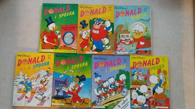 Donald i Spółka 7 numerów - 5,6,8,9,10,18,30