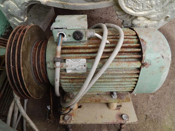Електродвигун 5,5кВт 2700 об/хв ГДР