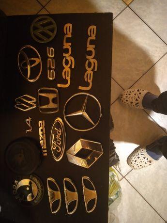 Sprzedam  emblematy do samochodów różnych  marek