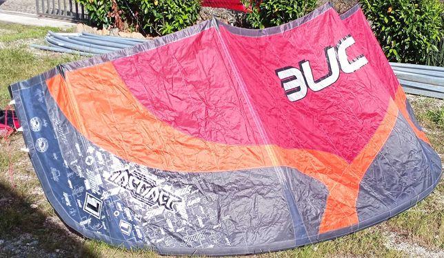 Kite 7m OZONE + Barra = material Kitesurf novo