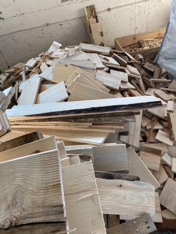 Drewno opałowe suche, świerk 80 zl m3