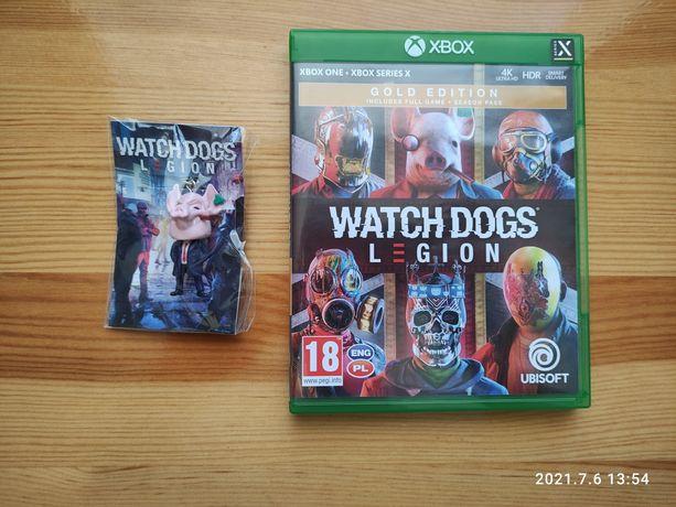Watch Dogs Legion - PL - /Xbox one/Xbox Series X/ + brelok Winston