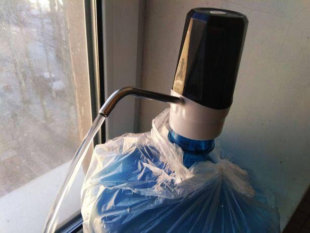 50Электрическая помпа для воды Touch Electric Pump с аккумулятором