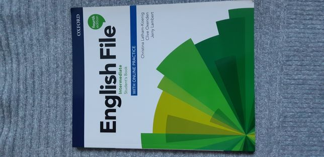 NOWY podrecznik english file intermediate fourth edition