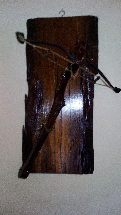 Besta de madeira p/decoração Boidobra - imagem 1