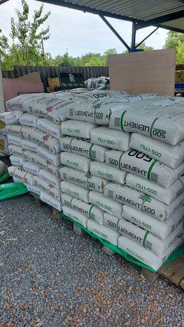 Цемент  Турция 400, 500, песок, щебень, шлак, керамзит, поддоны