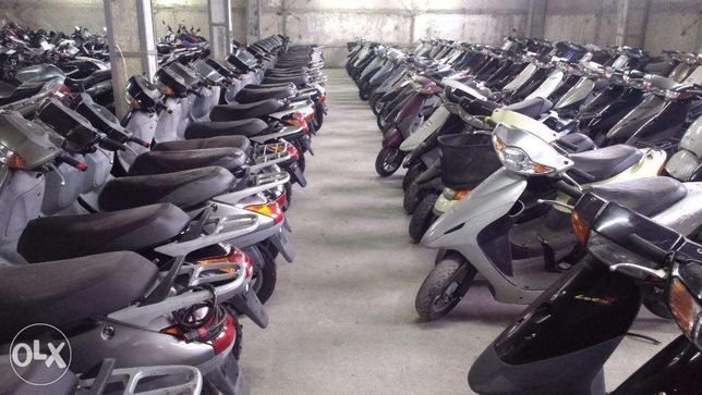 Скутер Honda Dio AF27/34/35/56/62/68 (Lets 2-3) (Jog 16- 36-39) Склад