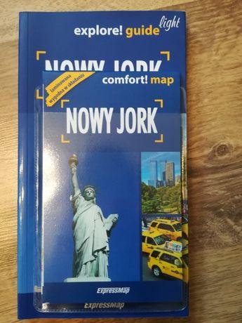 mapa + przewodnik Nowy Jork