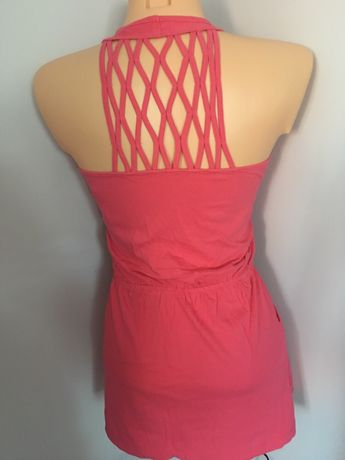 Letnia sukienka xs ozdobne plecy