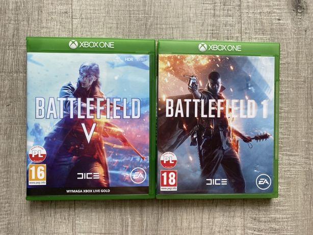 Zestaw dwóch gier Battlefield XBOX ONE