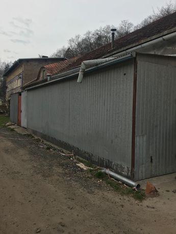 Garaż blaszany 30m2