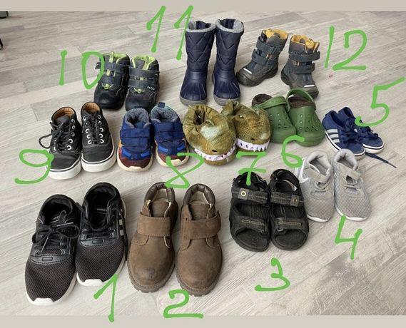 Ботинки/ тапки/ кроссовки на мальчика zara timberland ecco chicco nike