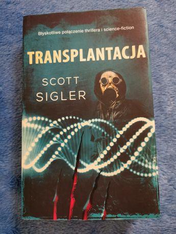 """""""Transplantacja"""" Scott Sigler"""