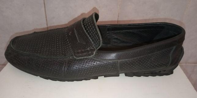 Кожаные туфли MOCASSINO.