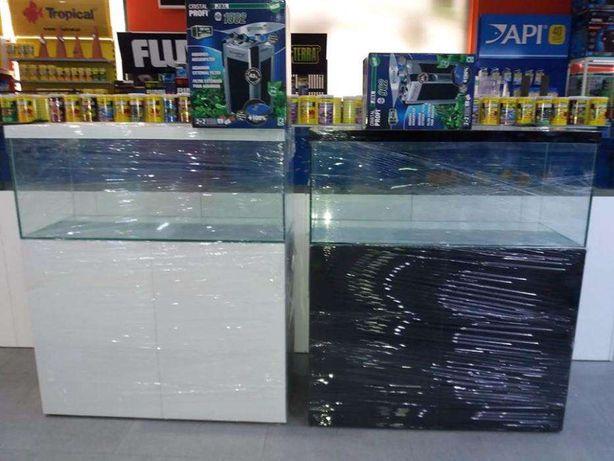 Aquario com móvel e filtro jbl e1502 novo