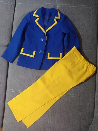 Праздничный (святковий)костюм патриотический сценичный 118-120см
