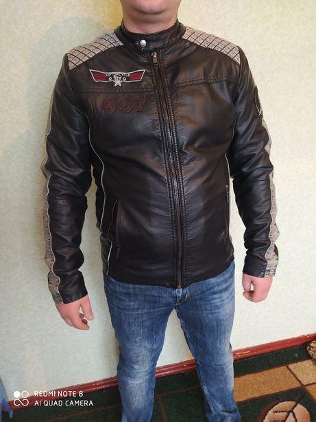 Шкіряна куртка, мотокуртка кожаная куртка