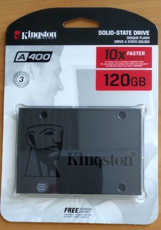 "НОВЫЙ Kingston SSDNow A400 120GB 2.5"" SATAIII 3D TLC (SA400S37/120G)"