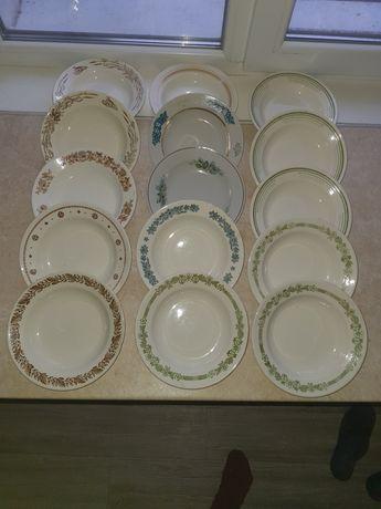 Тарелки разной глубины и диаметра