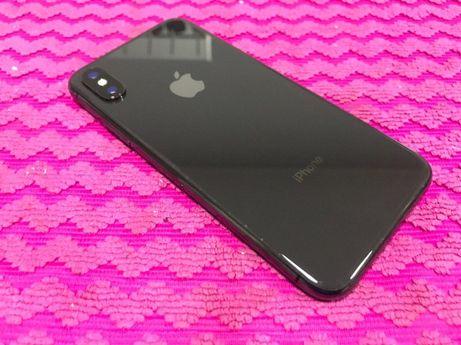 Apple iPhone X 256GB Space Gray Neverlock с гарантией, оригинальный