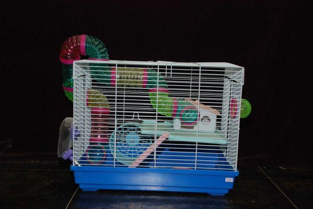 Декоративные крысята с ушками дамбо и нормал + клетки