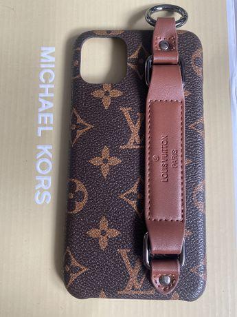 LV louis Vuitton etui case Iphone 11 pro max monogram