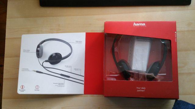 Słuchawki Hama Advance z mikrofonem