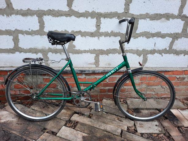 Продам складной велосипед Аист 24