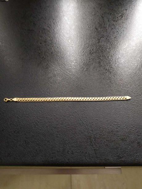 Złota bransoletka męska 6,9gr 585