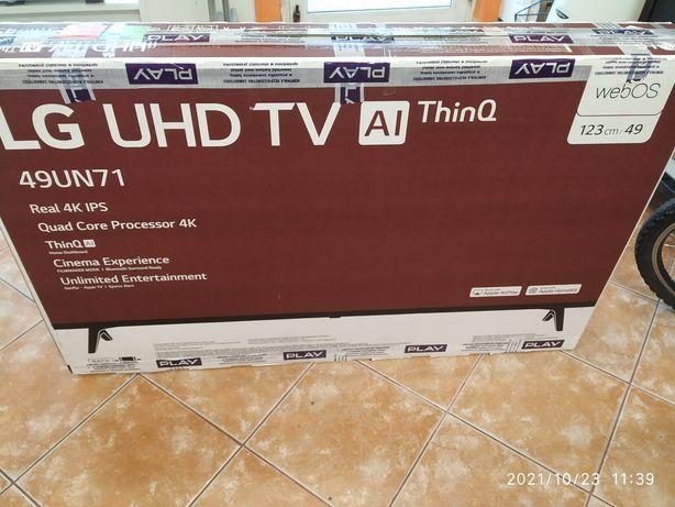Telewizor LG 49un711cozb nowy .